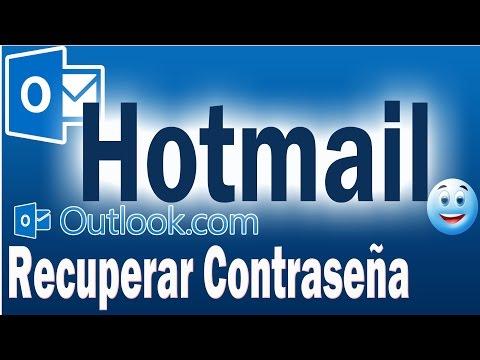 Como Recuperar Contraseña de Hotmail | Recuperar Contraseña de Correo Electrónico Hotmail