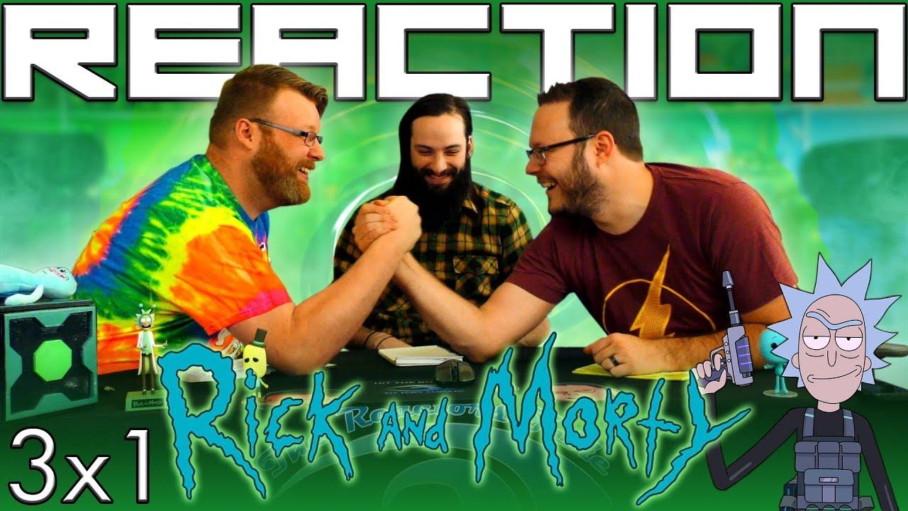 "Download Rick and Morty 3x1 REACTION!! ""The Rickshank Rickdemption"""