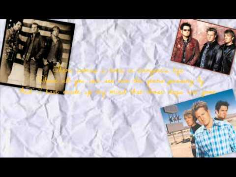 Rascal Flatts - I'm Moving On (Lyrics On Screen)