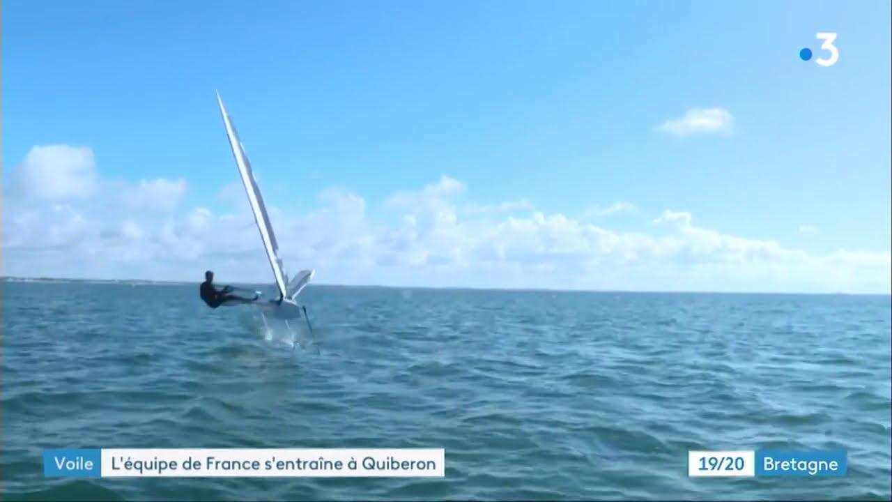 Ecole Nationale De Voile Et Sports Nautiques De Quiberon Passage Oblige Pour Les Champions