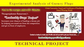 Leadership Stage (E to DE) System Project - Experimental Analysis of Gurney Flaps