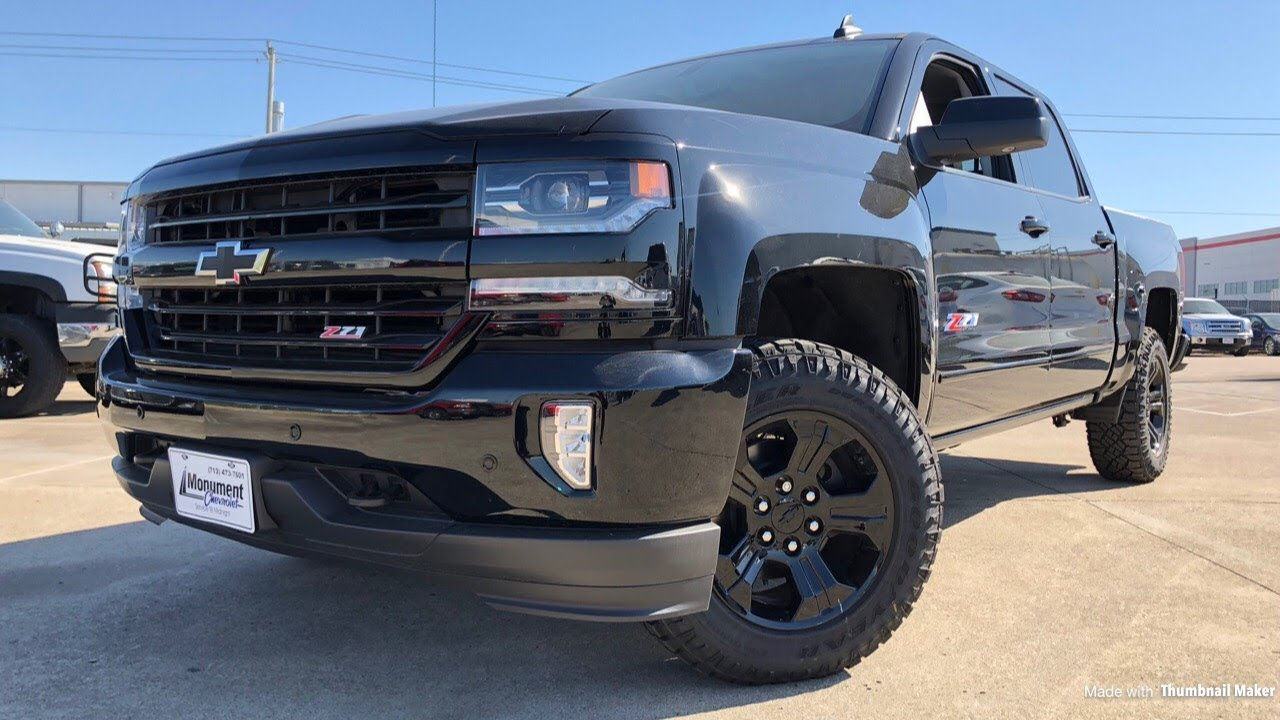 Chevy Midnight Edition >> 2018 Chevrolet Silverado Midnight Edition Is It Worth 50 000