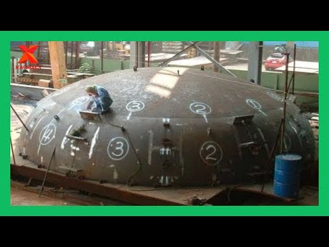 Amazing Fabrication Super Large Pressure Filters For Steel Vessels