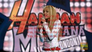 MIley Cyrus - Party in  the U.S.A. (karaoke) [720p HD] (Lyrics On Screen)