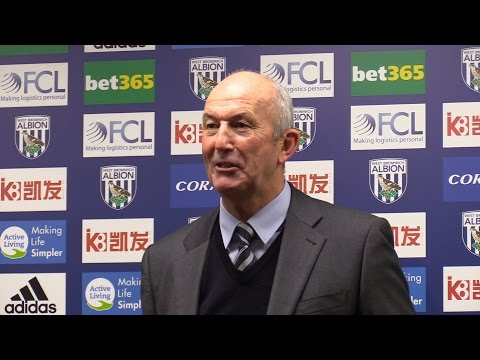 West Brom 0-2 Manchester United - Tony Pulis Full Post Match Press Conference