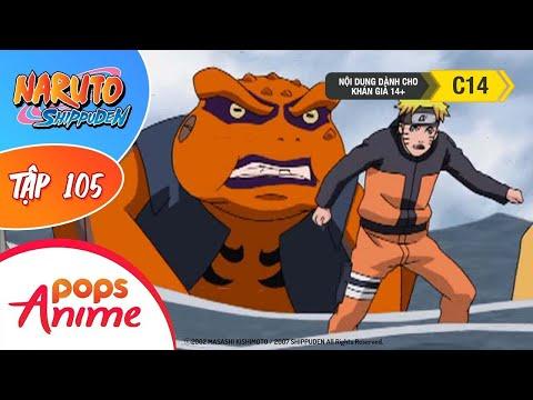 Naruto Shippuden Tập 105  Trận Chiến Nơi Kết Giới  Trọn Bộ Naruto Lồng Tiếng