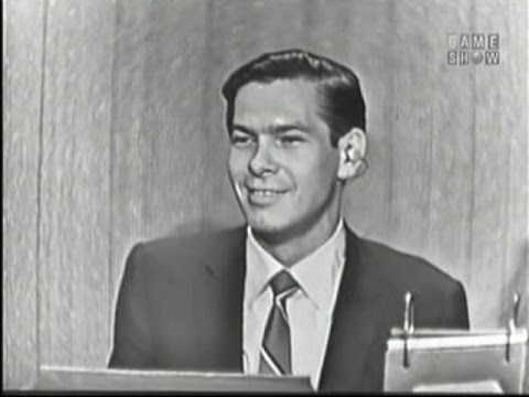 What's My Line?  Johnnie Ray; Ozzie Nelson panel; Janet Blair panel Jun 9, 1957