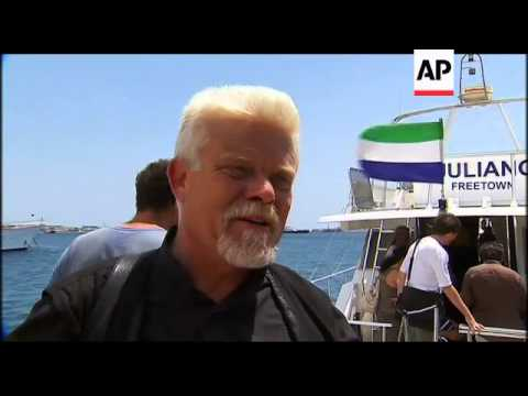 Activists say attempt will be made to sail to other Greek port after travel ban to Gaza