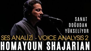 Art Is Rising From The East ! Homayoun Shajarian Voice Analysis 2 (How High Is The Level Of This ?)