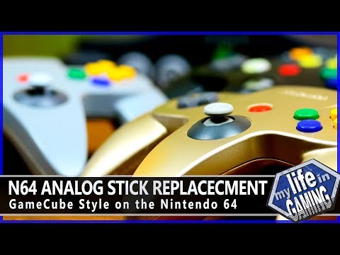 N64 Analog Stick Replacement - GameCube Style On The Nintendo 64 / MY LIFE IN GAMING