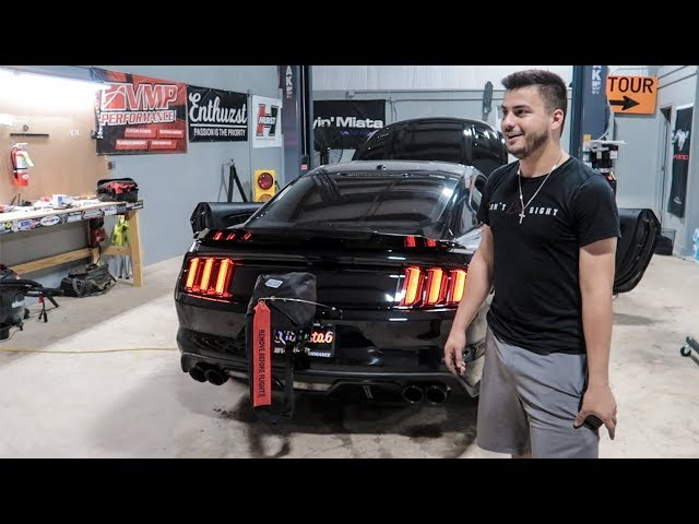 First time two-stepping Satan, the 1,000hp Mustang!!
