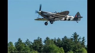 Y2-K Spitfire Mk IX first flight - June 7, 2017