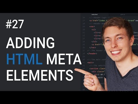 27: Which HTML Meta Tags Are Required In A Website? | Learn HTML And CSS | HTML Tutorial | HTML SEO