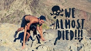 WE ALMOST DIED MOUNTAIN CLIMBING!!