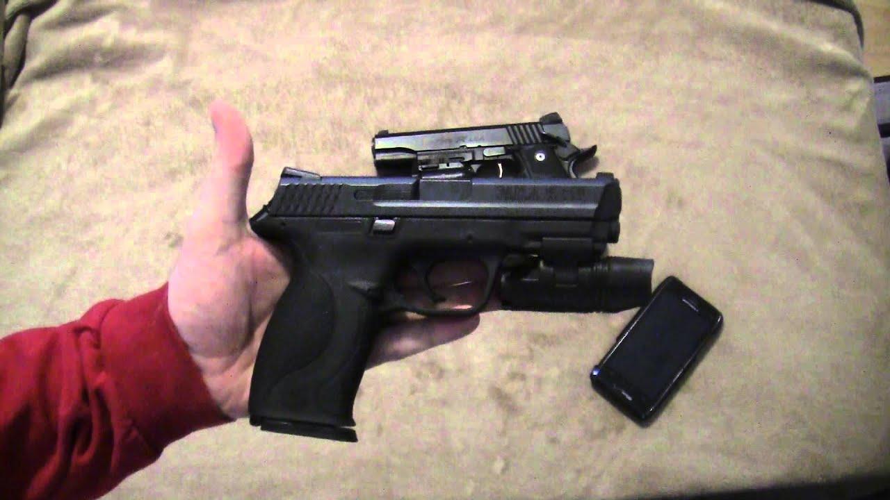Best Handgun For Home Defense Youtube