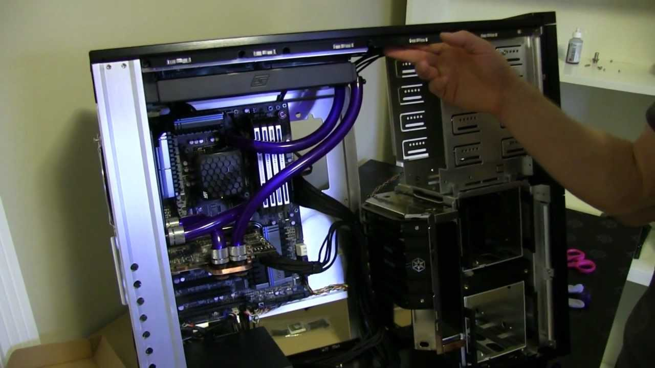Water Cooling Gaming Build Guide Feat Silverstone Tj10
