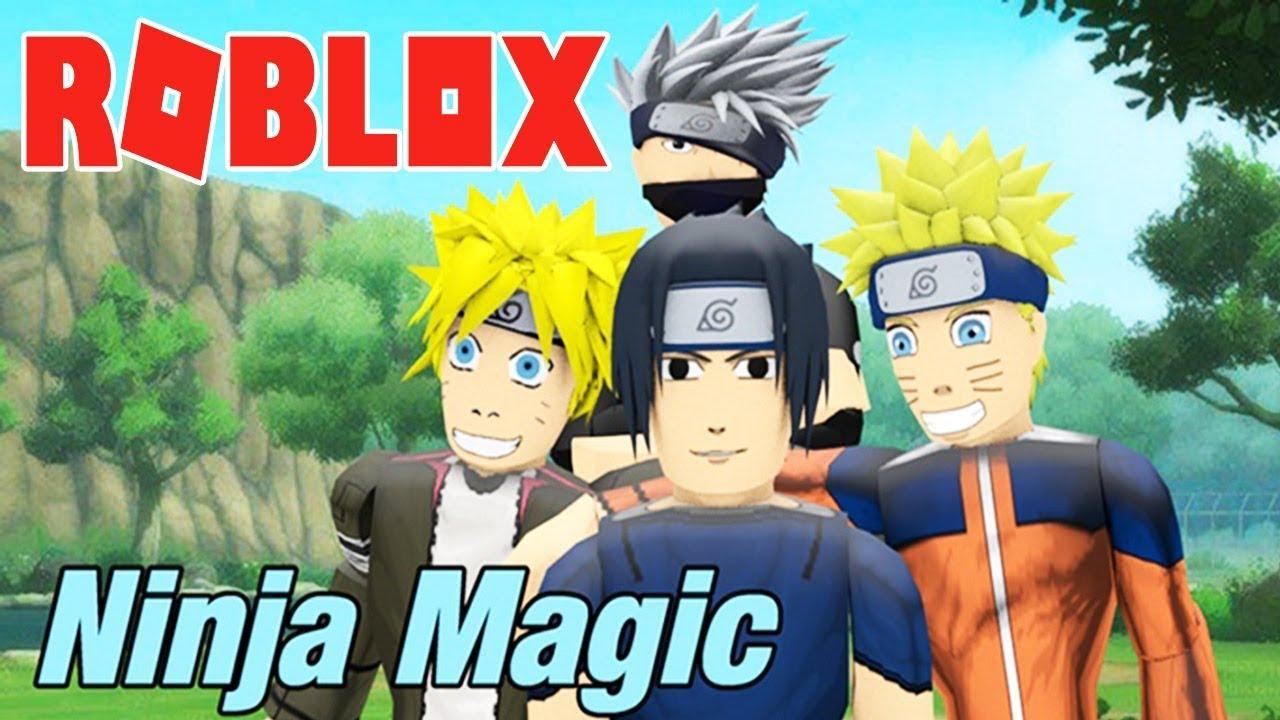 Roblox – ĐỈNH CAO CỦA GAME NINJA NARUTO LÀ ĐÂY – Ninja Magic – Hinata!