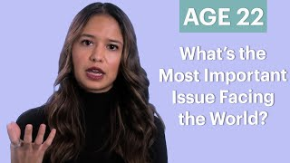 70 People Ages 5-75 Answer: Most Important Issue Facing the World? | Glamour