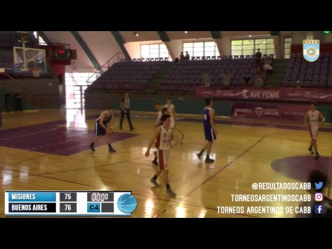 Argentino U17 de Selecciones: Misiones vs. Buenos Aires