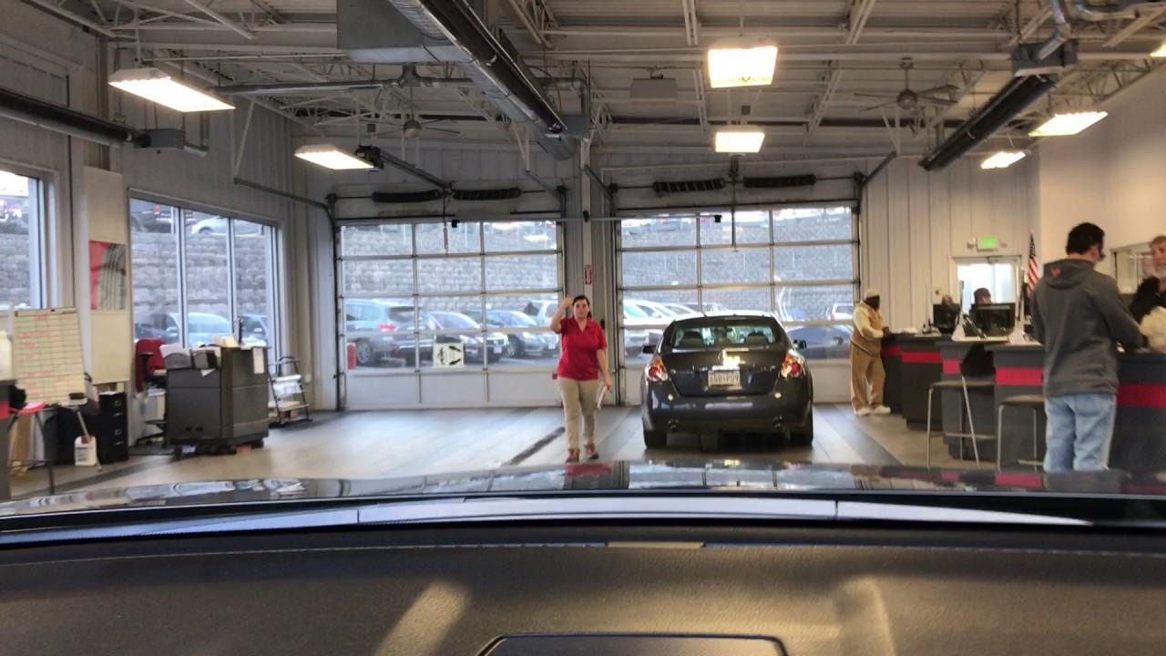 Bel Air Nissan Service >> Jones Bel Air Nissan Service Drive Up Youtube
