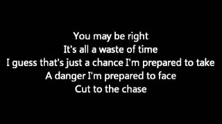 Rush-Cut To The Chase (Lyrics)