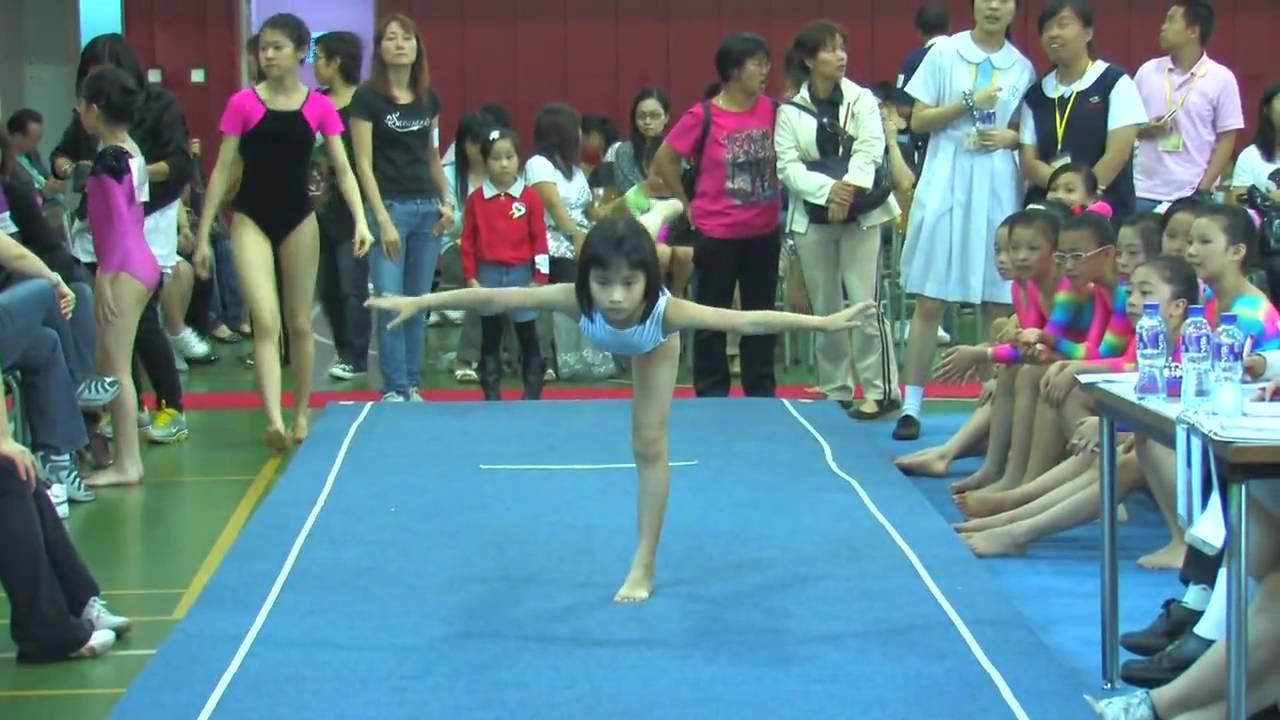 全港小學體操邀請賽 女子自由體操 54