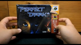 Nintendo 64 Game Unboxing & Teardown - Factory Sealed Perfect Dark (2000) [HD]