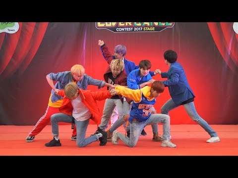 171125 BangEarn Cover BTS - DNA + FIRE @ The Paseo Town Cover Dance 2017