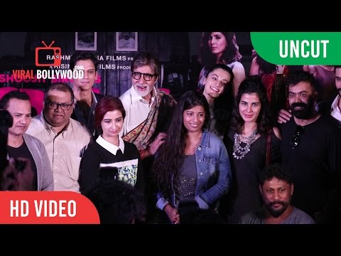 UNCUT - Pink Movie Success Press Conference |   Amitabh Bachchan, Taapsee Pannu, Shoojit Sircar