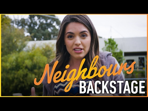 Neighbours Backstage - Paige's Baby Bump
