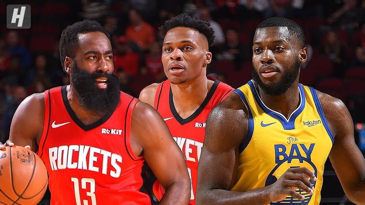 Golden State Warriors Vs Houston Rockets Full Game Highlights