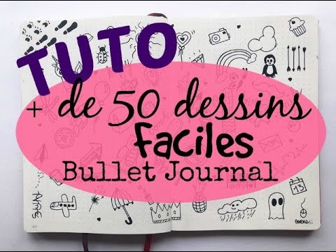 Tuto Bullet De 50 Dessins Faciles By Cendre Arts