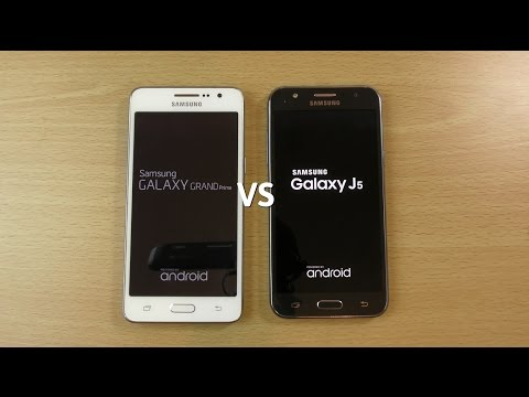 Samsung Galaxy Grand Prime Official 5.0.2 VS Galaxy J 5.1.1 - Speed Test