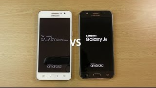 Samsung Galaxy Grand Prime Official 5.0.2 VS Galaxy J 5.1.1 - Speed Test