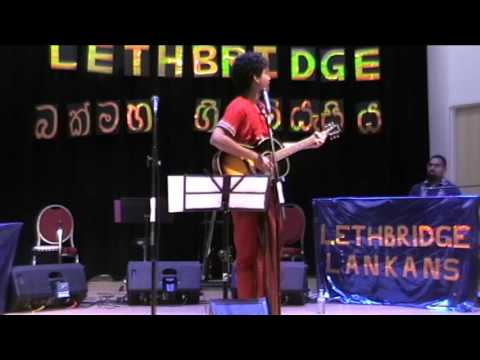 Ajay at Lethbridge Sinhala New Year Party 2016