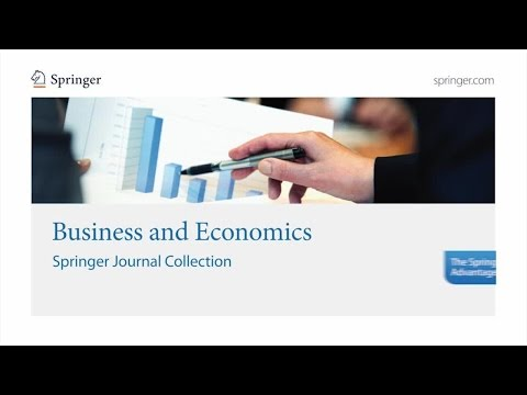 Business and Economics - Springer Journal Collection