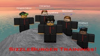 Roblox - SizzleBurger Training (MR Perspective as the Host) #1