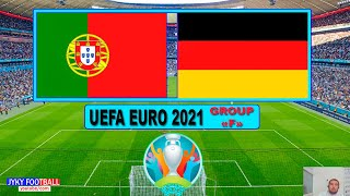 PES 2021 Portugal vs Germany UEFA EURO 2021 group F Full Match HD All Goals Gameplay
