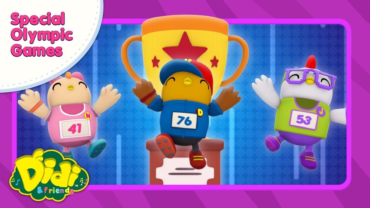 Nursery Rhymes | Special Olympic Games | Didi & Friends in English