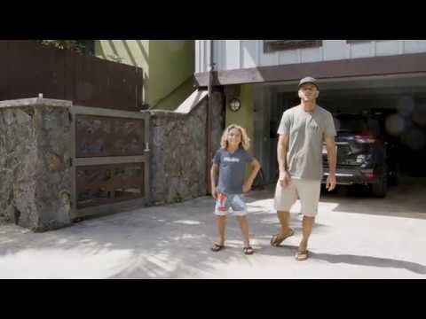 Tour of the Billabong Hawaii House with Shane & Jackson Dorian