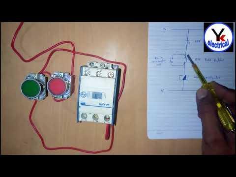 House Motor Starter Wiring , Water Pump Motor Starter | YK Electrical