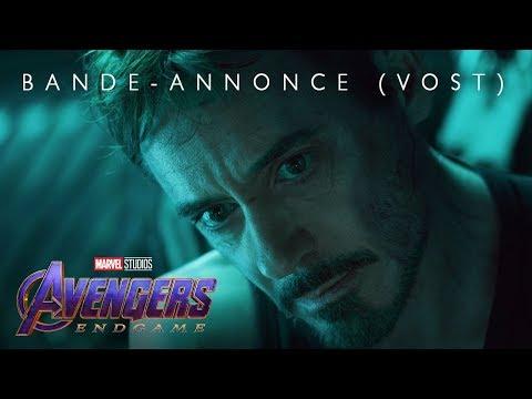 Avengers : Endgame - Bande-annonce officielle (VOST)