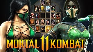 Jade Practice for Mortal Kombat 11 - Jade Combos & Arcade Ladder Playthrough!!