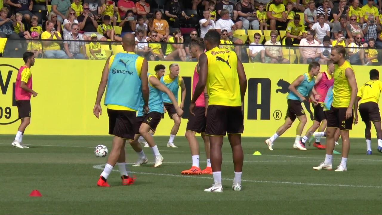 Öffentliches BVB-Training in Brackel am 30. Juli