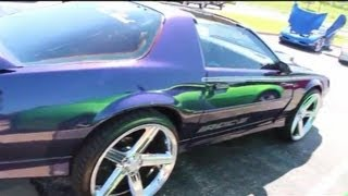 Repeat youtube video IROC-Z on 24's @ Hott Wheelz Car Club picnic