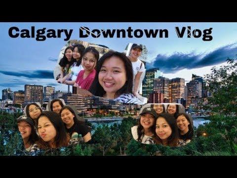 CALGARY DOWNTOWN |FamJam|Vlog2