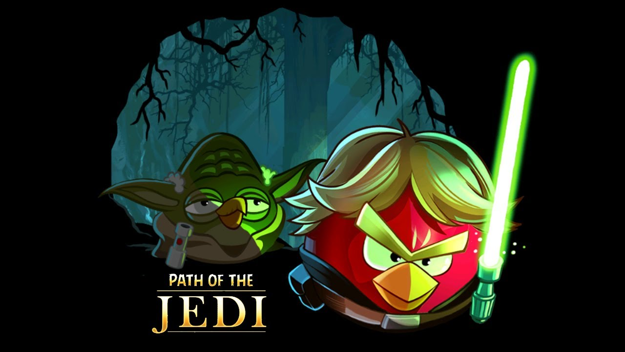 angry birds star wars path of the jedi hd gameplay trailer youtube. Black Bedroom Furniture Sets. Home Design Ideas