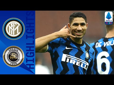 Inter 2-1 Spezia | Sesta vittoria di fila, nerazzurri in scia del Milan | Serie A TIM