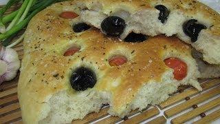 Рецепт -  Итальянская лепёшка Фокачча