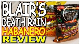 Blair's Death Rain Kettle Cooked Potato Chips Review